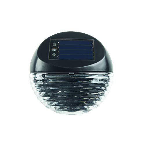 Duracell Solar Garten Deko LED Licht Treppenlicht Outdoor Treppenlicht 5 Lumen Kunststoff Finish (4 Stück)