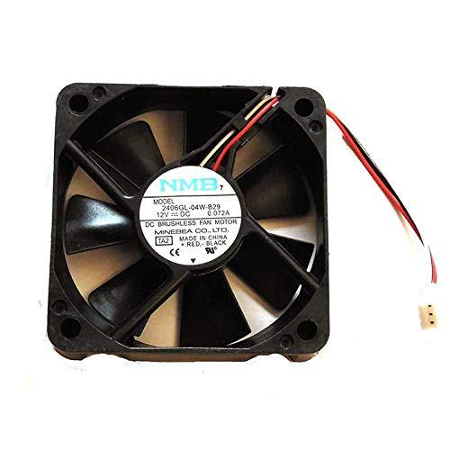 Cooler Fan for Samsung TV HL50A650C1FXZA DMD Fan w/ 17' Wire NMB 2406GL-04W-B29 For PANASONIC 12V 0.072A 3Wire Cooling Fan