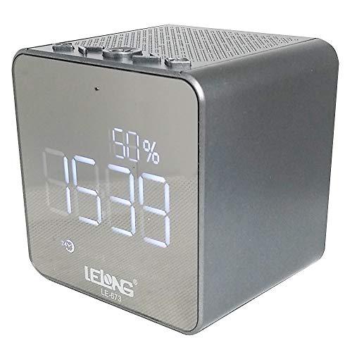 Radio Despertador Caixa de Som Estilo JBL Lelong LE-673