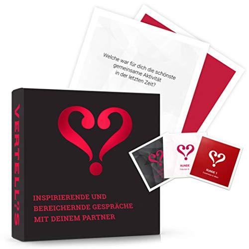 Vertellis Kartenspiel für Paare & neues Beziehungs-Glück | Paar Geschenke, Paarspiele, Spiele für Paare, Paare Geschenke, Paar Spiel, Gesellschaftsspiel Erwachsene, Spielkarten, Gesellschaftsspiele