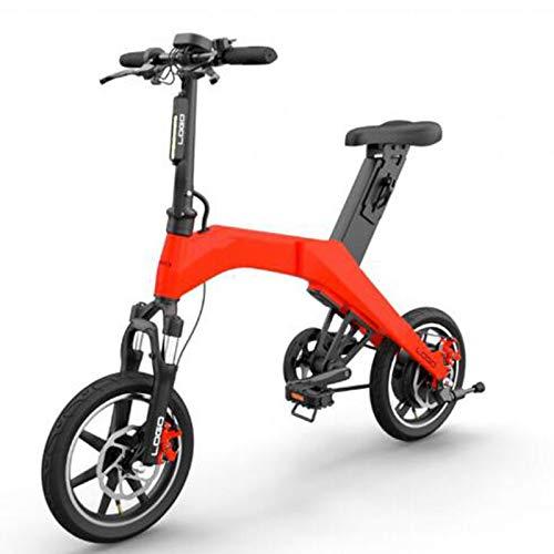 SHIJING mini-opvouwbare elektrische fiets, 36 V, 350 W, 6,6 Ah, cyclus van 12 inch, lithium-batterij, elektrische fiets, eenzits, ebike