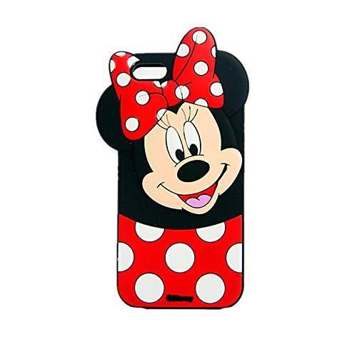 Carcasa de silicona suave para iPod Touch 5, Touch 6, Touch 7, diseño de Minnie Mouse