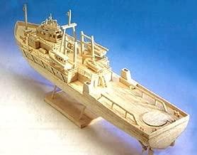 Oil Rig Support Vessel - matchstick model construction craft ship kit -