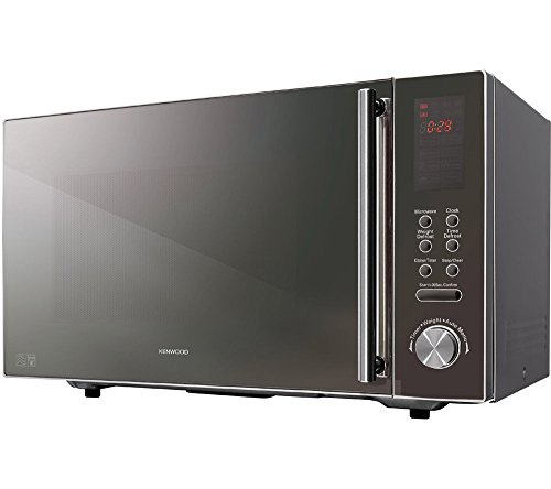 Kenwoos CUR072769 Kenwood K25MMS14 Micro-onde Solo Argent, Plastique, 900 W, 25 litres