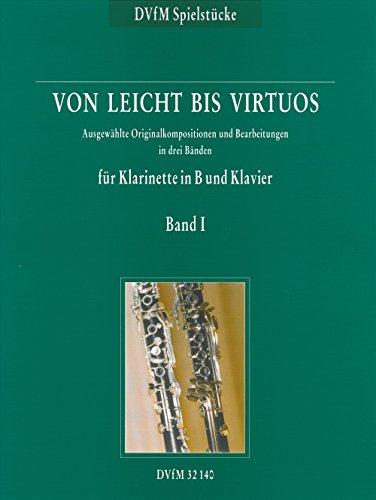 Von leicht bis virtuos Begleitheft zu \'Neue Schule für Klarinette\' Band 1 (DV 32140)