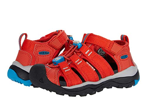 Keen Newport Neo H2-C Sandal, Orange Vivid Blue, 11 UK Child