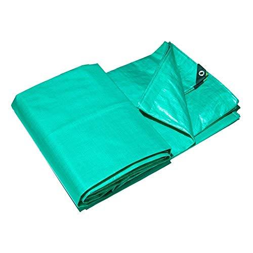 WEIWEI Lona impermeable pesada de 2 x 3 m, cubierta de calidad premium hecha de lona de metro cuadrado de 180 gramos (tamaño: 2 & Times; 2 M (6 x 6 pies)