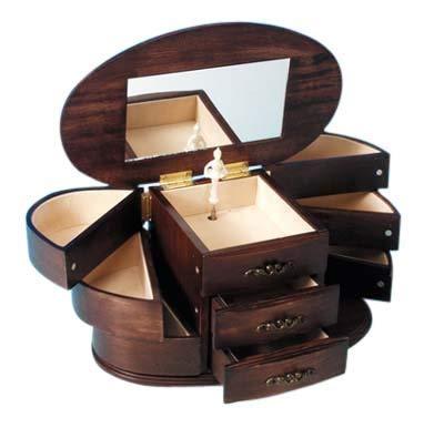Spieluhrenwelt MMM GmbH, 16085 Spieluhr Schmuckkasten aus Holz