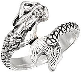 World End Imports Mermaid Wrap Ring