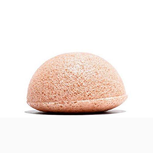 KONJAC KIREI PARIS Eponge Konjac nettoyante gommage visage soin visage maquillage point noir 100% naturelle homme femme Marque Française (Camomille & Argile rose Française)
