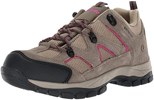 Northside Women's Snohomish Low Hiking Shoe, Stone/Berry, 6 M US -  314548W299