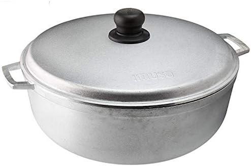 IMUSA USA Traditional Colombian Caldero 4 8 Quart Silver product image