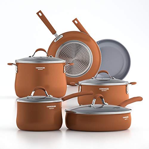 Cooper Pan Signature Ceramic Cookware For Induction