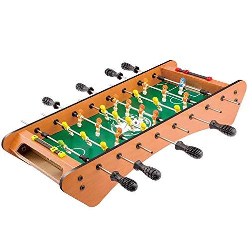 YAOMIN 8 Polo Lowfoot Mesa de futbolín, Mesa de Billar Mini Accesorios del Juego de fútbol Tableros Competencia Juegos de Deportes Juegos de Noche Familiar