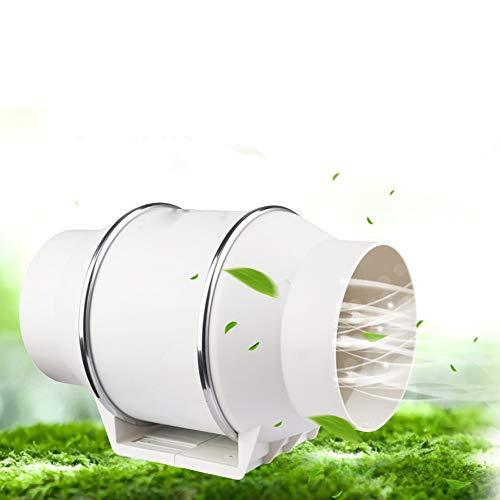 Vinteky Extractor Ventilador de Aire en Línea Super Ligero y Silencioso para Oficina, Hotel, Baño - ø150 mm, 540m³/h