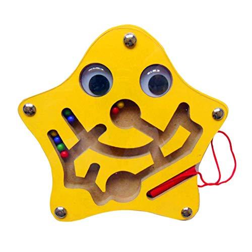 AimdonR Cartoon Tiere Labyrinth Magnetic Walking Perlen bewegliches Spielzeug für Kinder erste Lernspielzeug Geschenk