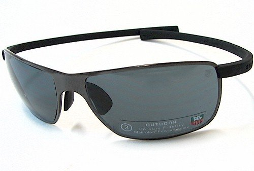 TAG HEUER 5023 Gafas De Sol TagHeuer Curve Series 101 Negro