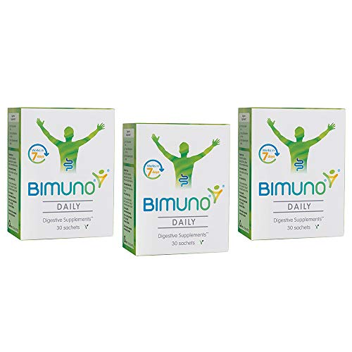 Bimuno Daily Prebiotic Supplements - Triple Pack (90 Day Supply)