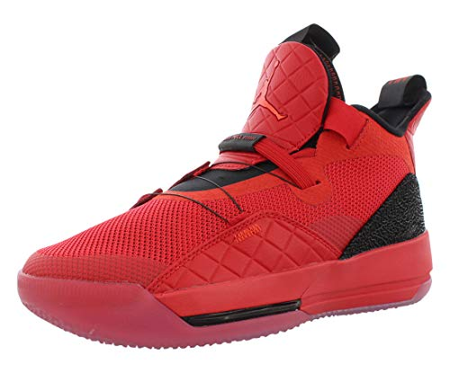 Nike Kids Air Jordan XXXIII (GS) Basketball Sneaker (5.5 Big Kid, University Red/Black-Sail-University Red)