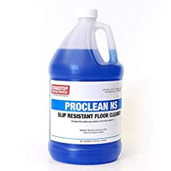 Concentrated floor cleaner with non-slip treatment