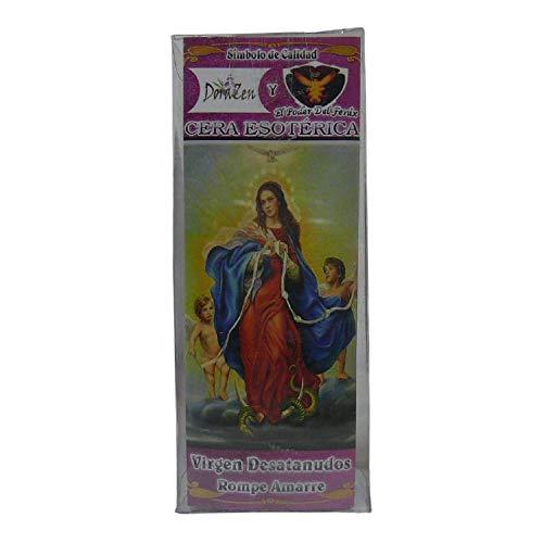 VELON ESOTERICO HERBOREO - Virgen DESATANUDOS para Romper AMARRES