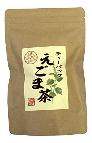 【国産 100%】えごま茶 2g×10パック 無農薬 ノンカフェイン 島根県産 巣鴨のお茶屋さん 山年園