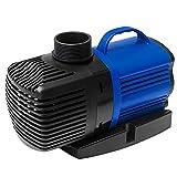 H&RB Bomba de Fuente Bomba de Agua Sumergible y Desmontable Ultra Silenciosa Fuente de Tanque de Acuario de Estanque de Peces,RS6000L