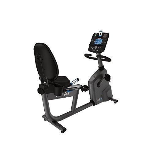 Life Fitness - bicicleta estática RS3 con consola TRACK+