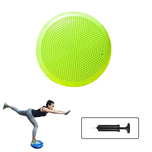 Ergonomisches Sitzkissen Orthopädisch/Gleichgewichtskissen/Balance-Kissen,/Balance Pad/Sitzballkissen für Auto, Physiotherapie, Stuhl, Yoga, Fitness,Massage