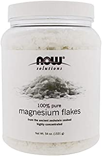 Now Foods, Solutions, Magnesium Flakes, 54 oz