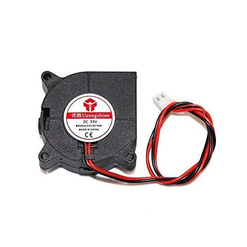 40x40x20mm 4020 Ventiladores 5/12/24 voltios Ventiladores de CC sin escobillas para disipador de calor Radiador de refrigeración para piezas de impresora 3D Ventilador de refrigeración 4020 Accesorios