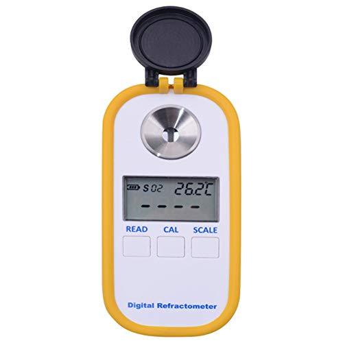 DR 401 Digitalanzeige Refraktometer for Wein Saft Zucker Getränk Dichtemessgerät Tasche Kaffee Brix Einfach zu Bedienen