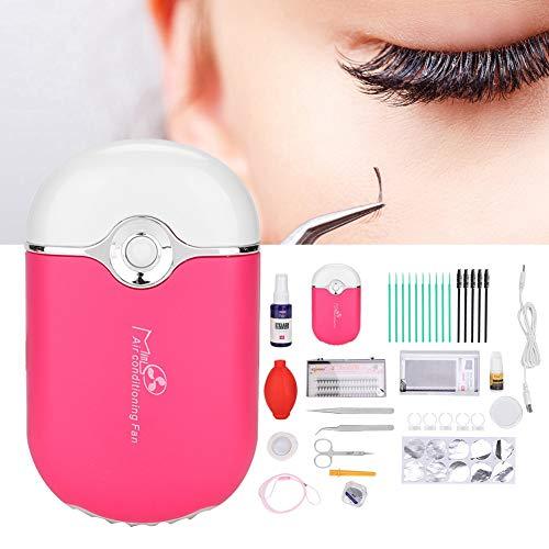 Greffe de cils, bague coupe faux cils bague coupe coton écouvillons pince à épiler femmes beauté kit de maquillage extension de cils kit d'outils pour nouveau maquillage de démarrage