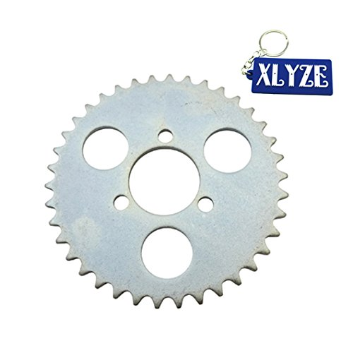 XLYZE T8F 38 Tooth 29mm Piñón de cadena trasera para 43cc 49cc Minimoto ATV Kids Pocket Bike Goped Scooter Mini Moto