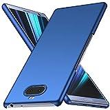 Arkour Sony Xperia 10 Plus Hülle, Minimalistisch Ultradünne Leichte Slim Fit Handyhülle mit Glattes Matte Oberfläche Hard Case für Sony Xperia 10 Plus (Glattes Blau)