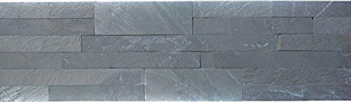 Wandbekleding zelfklevend leisteen natuursteen zwart wandbekleding black salte voor muur keuken tegelspiegel tegelbekleding mozaïekmat mozaïekplaat