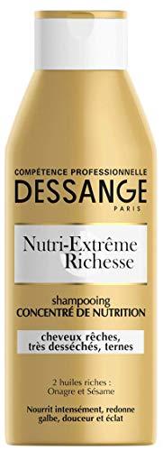 petit un compact DESSANGE – Shampooing Concentré Nourrissant Nutri-Extrême Richesse, Rugueux, Très…