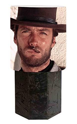Lámpara de mesilla negra Clint Eastwood - por un puñado de dólares