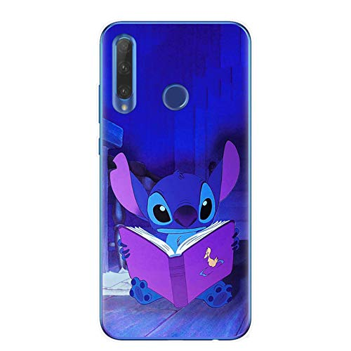 Cute Cartoon Stitch Soft TPU Phone Case para Huawei Honor 9 10 20 Lite 10i 8X 8C 9X Pro Contraportada Coque Capa Fundas Bags
