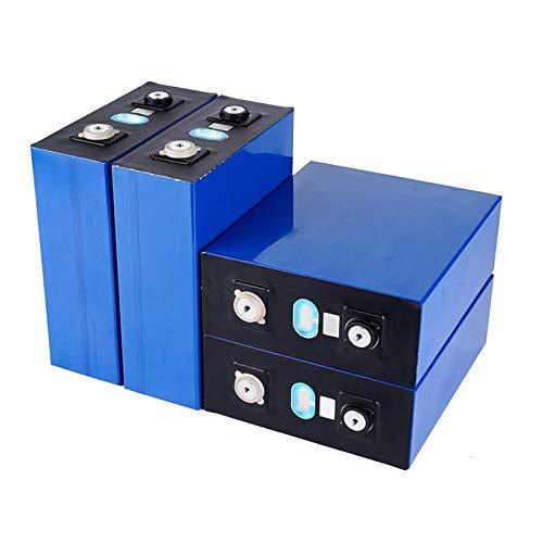 QMRePow 4/8PCS 3.2V 200Ah LIFEPO4 Batteriepack 12V200AH 24V200AH Neues Zellen Lithium Eisen Phosphat Solarbatterie (Color : 8PCS 24v)