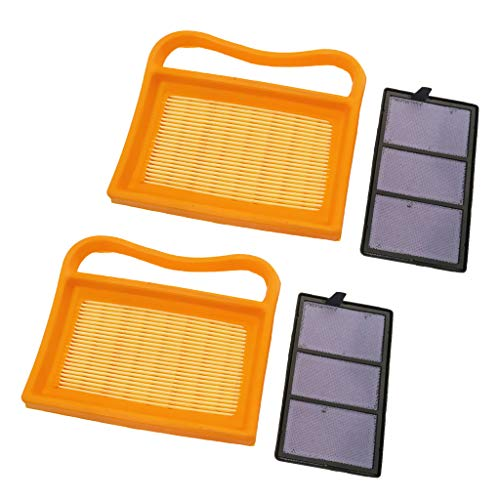 2 Stücke Luftfilter mit Vorfilter für Stihl TS410 TS420 TS 410 TS 420 Cutoff Säge
