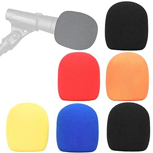 Sm 58 Estuche -Cubiertas de EsponjaMicrófono Globular de Shure SM58 SM58-LC para Reducir los Ruidos de Vientopor YOUSHARES(6 Colores)