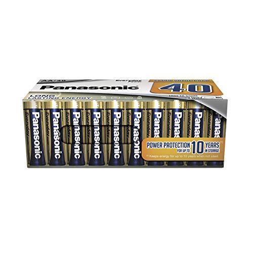 Panasonic Everyday Power - Batteria alcalina AA 40er Pack