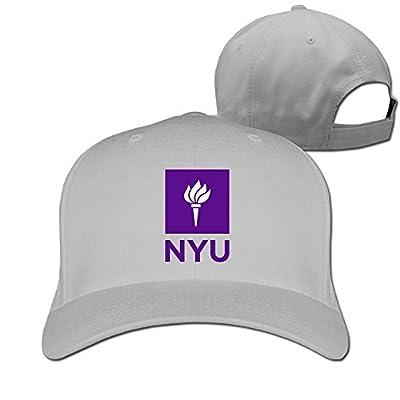MZONE Fashion New York University NYU Adult Sun Cap Hat Ash