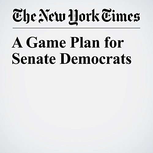 A Game Plan for Senate Democrats copertina