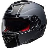 BELL 7102017 RS-2 Rally Motorcycle Helmet XL Matte Gloss Black Titanium