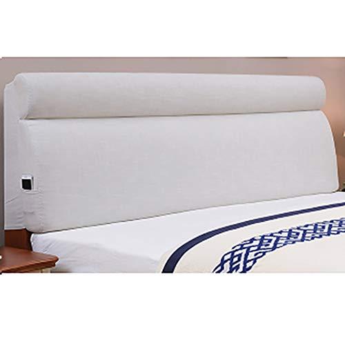 Buy Bargain YZJJ Removable Headboard Backrest, Bed Bedside Cushion, Bedside Back Cushions Reading ba...