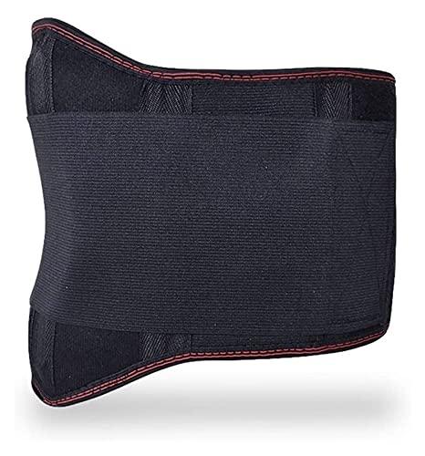 XFYJR Terapia Física Cinturón De Abrazadera Lumbar Ajustable Elástico Self-Calentamiento Bajo Atrás Soporte Alivio De Dolor para Hombres Mujeres Cintura Abdomen Sport (Tamaño : L)