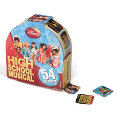 Etiqueta, Pimaco, Sticker com Dispenser, High School Musical, 54 Etiquetas
