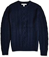 Amazon Essentials Men's Midweight Fisherman Sweater